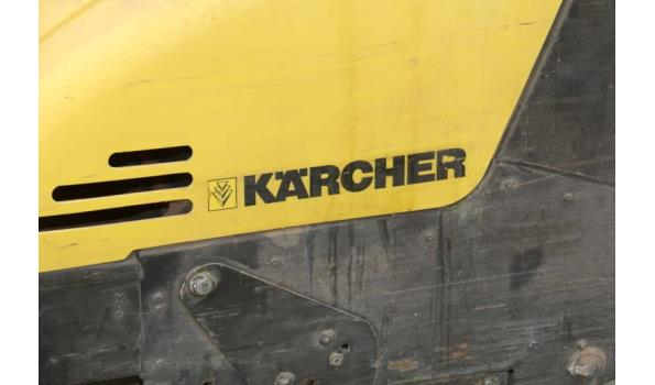 Kärcher achterloop veegmachine - model 750 KSM