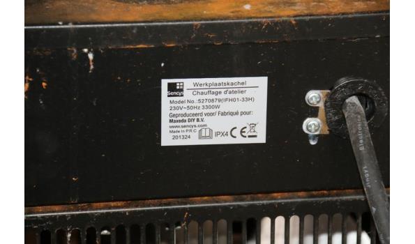 Sencyc werkplaatskachel - model 5270879