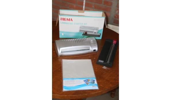 Sigma lamineer starters kit - EL142-01
