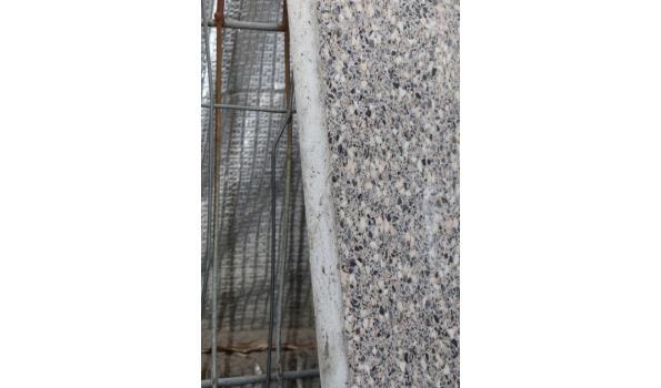 Aanrechtblad met wasbak - 182x60cm