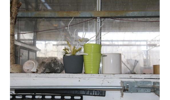 Diversen o.a. bloempotten