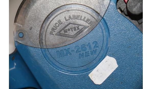 Motex prijstangen - MX-2612