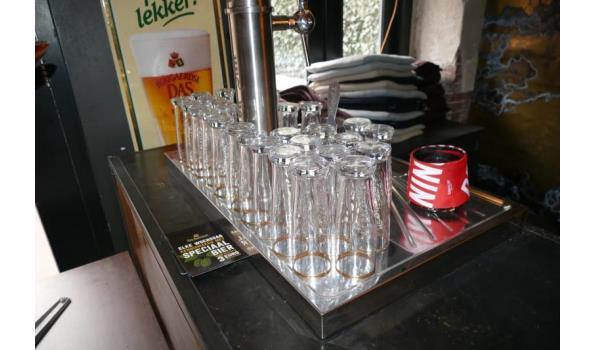 Diverse bierglazen
