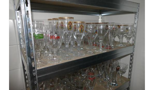 Grote partij glazen