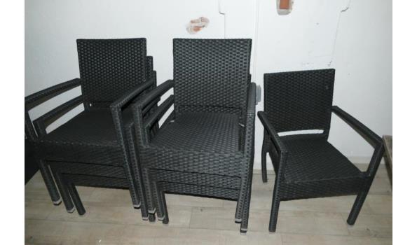 Tafel en 8 stoelen