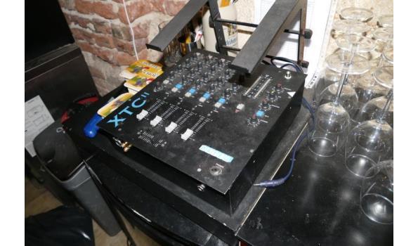 4+1 kanaals mixer