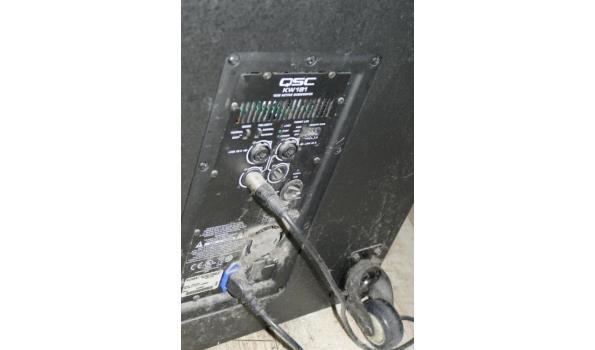 QSC subwoofer