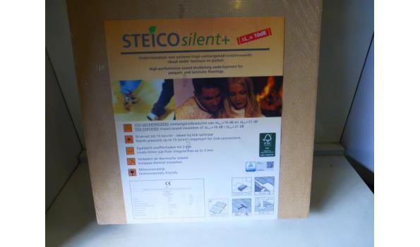 Ondervloer Steico silent+ 81,6m2