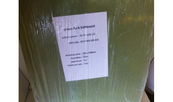 Ondervloer Isoboard 84m2
