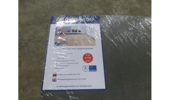 Ondervloer XPS 80 m2