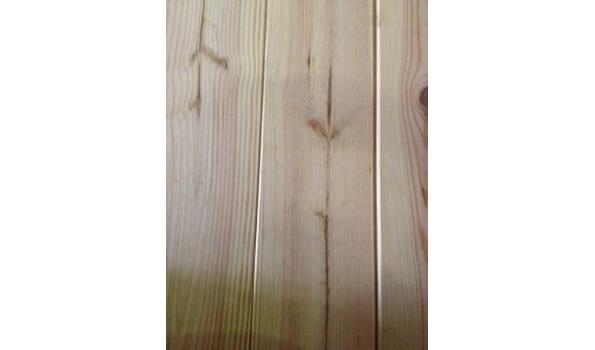 Massief frans grenen planken vloer 40,6 m2 26 pak