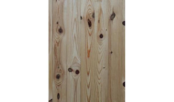 Massief frans grenen planken vloer 81,12 m2 52 pak