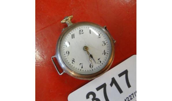 Koperen horloge