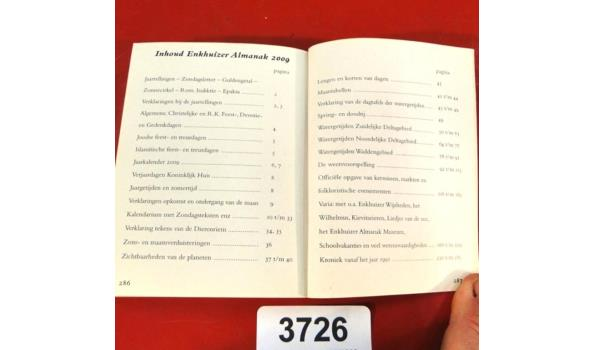 Enkhuizer Almanak 2009