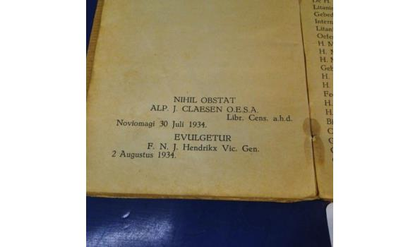 Antiek boek 1934
