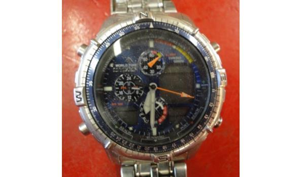 Citizen Promaster world time / chrono graph horloge