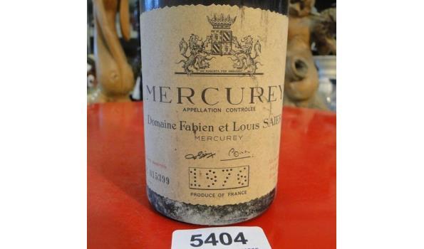 Mercurey Domaine Fabian et Louis Saier 1976