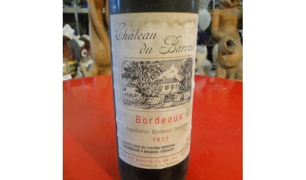 Château du Barrail Bordeaux 1975