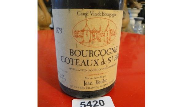Bourgogne Jean Baulat Cote aux de st. Bris 1979