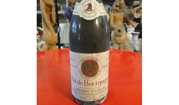 Roi de Bourgongne Jaboulet Vercherre 1976