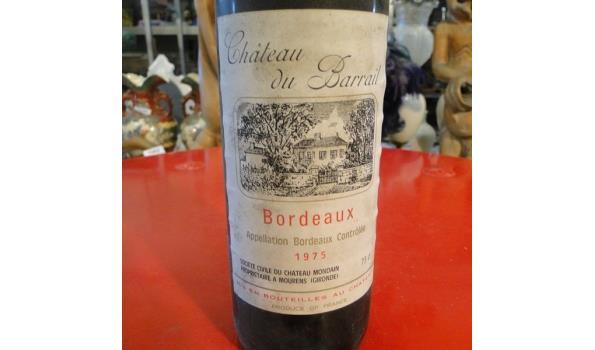 Bordeaux Château du Barrail 1975