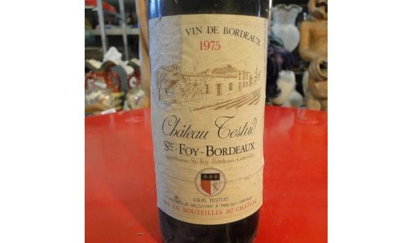 Château Testud Ste. Foy Bordeau 1975