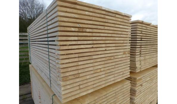 Steigerplanken/steigerhout 300 cm 20 x 200 mm