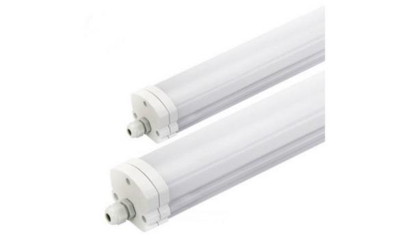 Verlichtingsarmatuur LED 120 cm 2 stuks