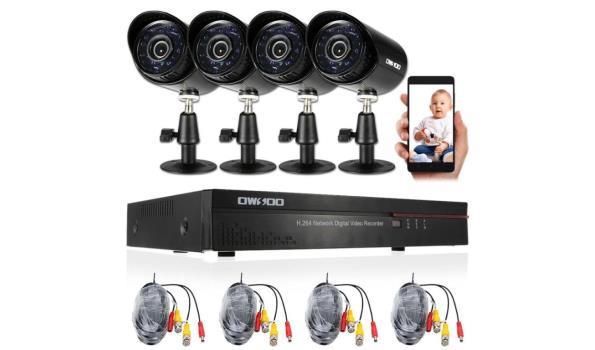 Bewakingssysteem met 4 camera