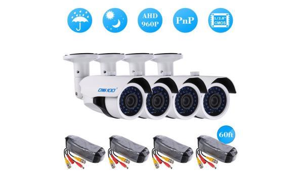 Bewakingsysteem 4 camera