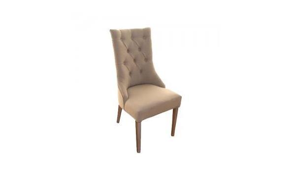 Eetkamer stoel, Janine, sand   ProVeiling.nl