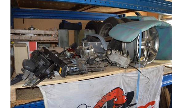 Inhoud palletstelling o.a. auto onderdelen
