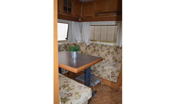 Hobby prestige caravan