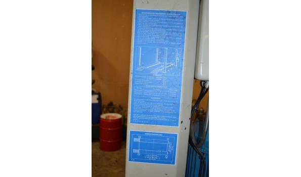 OMCN 4 koloms hefbrug model 399