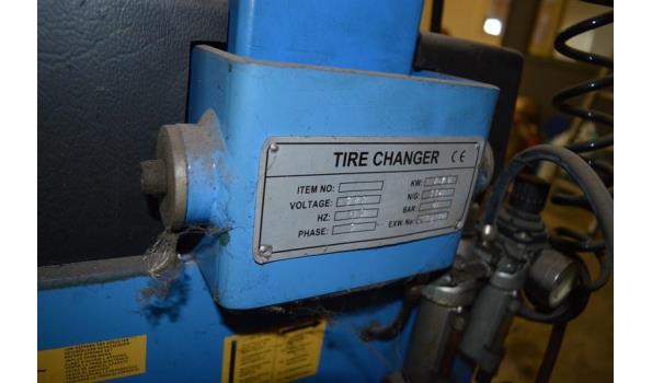 Inter Wheel bandenwisselaar/demonteermachine