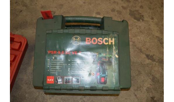 Bosch accuboormachine