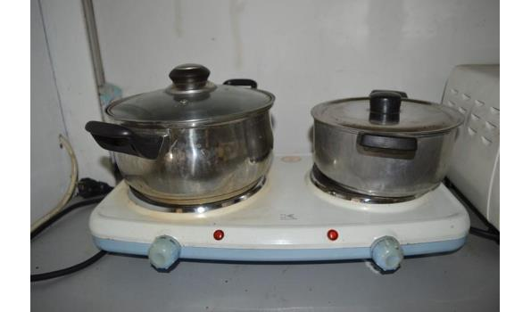 Tomado oven incl. kookplaat en pannen