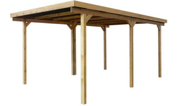 Carport/overkapping 3 x 5 meter met dakplaten