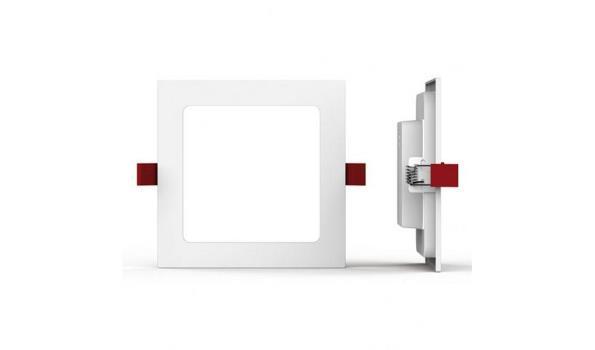 Inbouwspot Led vierkant 8x