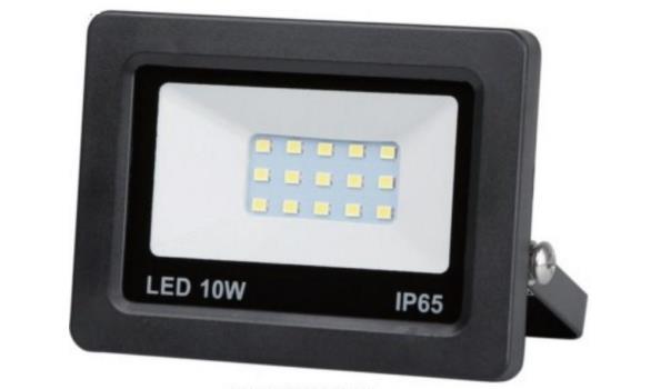 LED stralers Flat, 10 watt 4 stuks