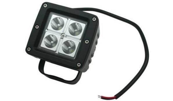 LED Schijnwerper 12 volt 2x