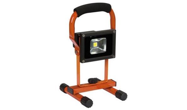 Led straler, werklamp op accu 2x