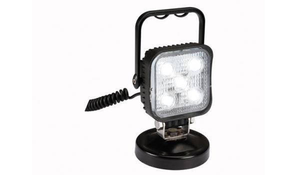 Werklamp 12 volt met magnetische voet