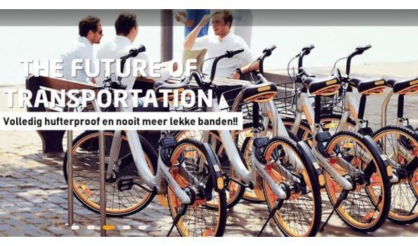 Trendy Hufterproof Citybike 2x