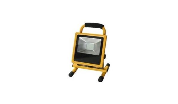 Led straler, werklamp op accu 10x