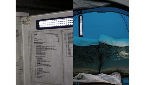 Magnetische werklamp 2x