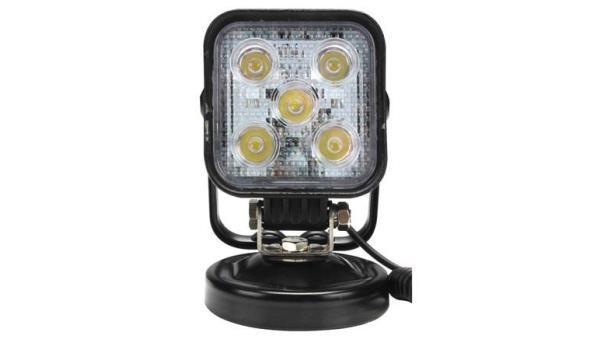 Werklamp 12 volt met magnetische voet 2x