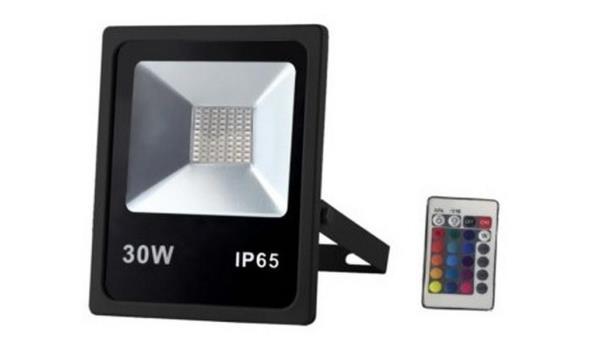 LED stralers Flat, 30 watt 6 stuks