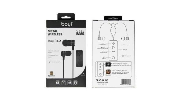 Boyi - 3 in 1 Stereo Headphone