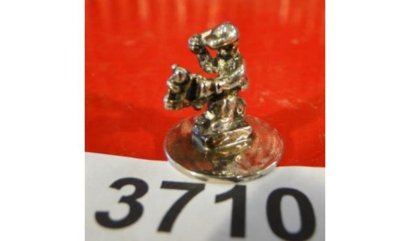Verzilverd miniatuur